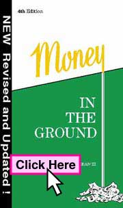 BookCover: Money In The Ground ISBN 0-9615776-6-5